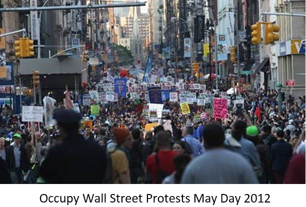 Occupy Wall Street Protests May Day 2012