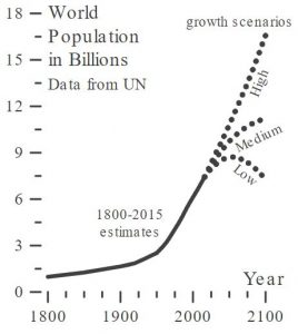 World Population in Billions: UN Data
