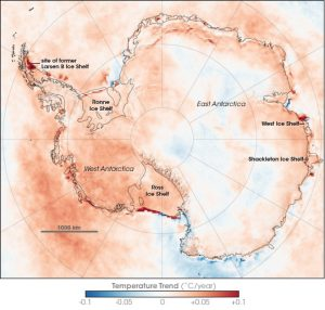 Antarctic Ice Temperature © Wikipedia